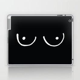 Black Boobs Laptop & iPad Skin