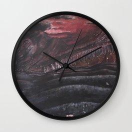 The Black Desert.... Wall Clock