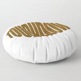 Touchdown Floor Pillow