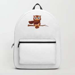 Floss Dance Move Owl Backpack