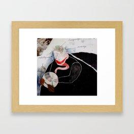 The Tree & Mind Framed Art Print