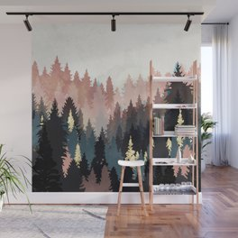 Spring Forest Light Wall Mural