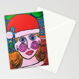 """Mary's Happy Christmas"" Stationery Cards"