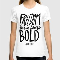 freedom T-shirts featuring Freedom  by Leah Flores