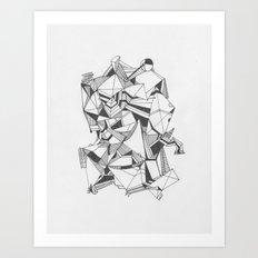 Art of Geometry 5 Art Print