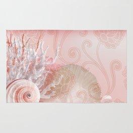SEASHELL DREAMS | pink Rug