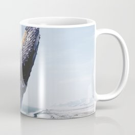 The Humpback Whale-Black Sand Beach in Iceland Coffee Mug