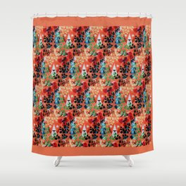 Leo Lion Shower Curtain