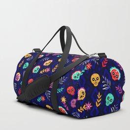 Fiesta Skulls #society6 #skulls Duffle Bag