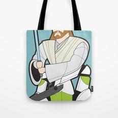 Obi-wan and Clone Trooper Tote Bag