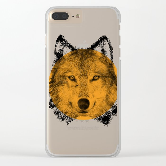 Wild 7 - by Eric Fan and Garima Dhawan Clear iPhone Case