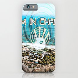 """I am in charge"" with the sea coast iPhone Case"