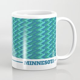 MN Logo - With Pattern Coffee Mug