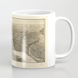 Aerial View of Saint Paul, Minnesota (1906) Coffee Mug