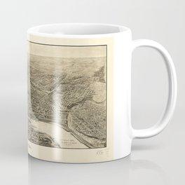 Aerial View of Saint Paul, Minnesota (1906) Coffee Mug