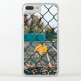 onthefence__ Clear iPhone Case