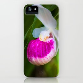 Lady's Slippers in June iPhone Case