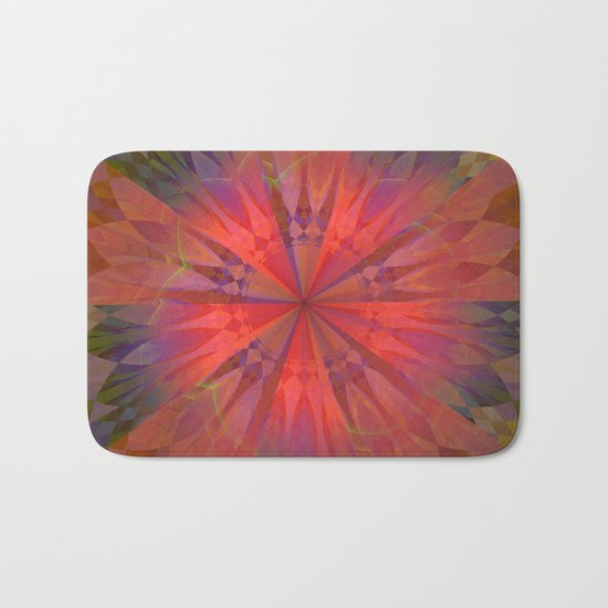 Light burst Bath Mat