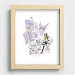 Just relax Recessed Framed Print
