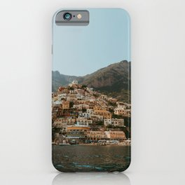 Amalfi coast Positano | Travel Photography Italy Photo Print iPhone Case