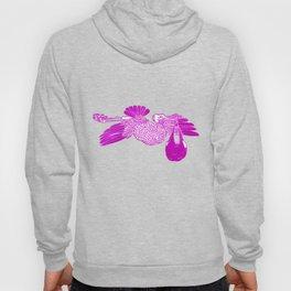 The Stork in pink Hoody