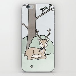 Dreamy Deer iPhone Skin