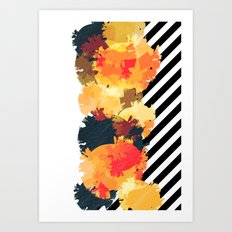 The Fall Patterns #3  Art Print