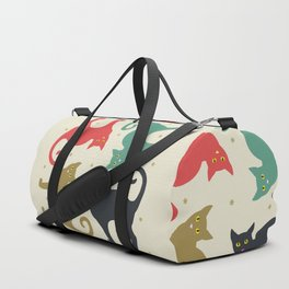 Cats and Cream Duffle Bag