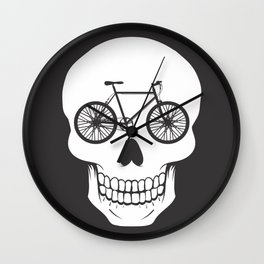 Bikehead Wall Clock