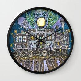Fortune Teller's Work  Wall Clock