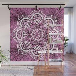 Mandala Mauve Colorburst Wall Mural