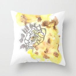 Scandi Micron Art Design | 170412 Telomere Healing 28 Throw Pillow