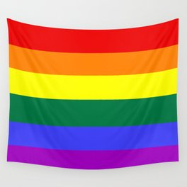 Gay pride flag Wall Tapestry
