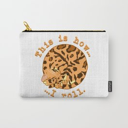 Rolling Cat - Bengal Carry-All Pouch