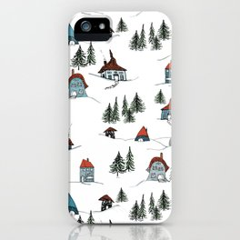 Pine Mountain iPhone Case