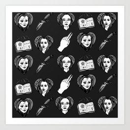 Badass Buffy B*tches Art Print