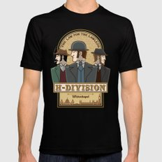 H-Division  Mens Fitted Tee Black MEDIUM