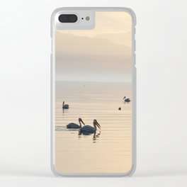 MYSTERIOUS SALTON SEA Clear iPhone Case