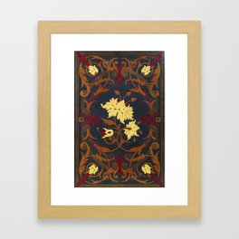 Victorian Vines Book Framed Art Print
