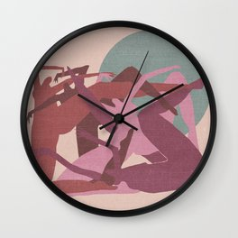 Witches in the Full Moon Wall Clock