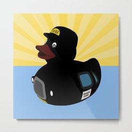 Quack Cabs Metal Print
