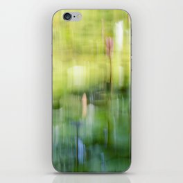 Tropical Impressionism - Lily Pond iPhone Skin