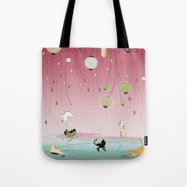 Cat's Paradise Tote Bag