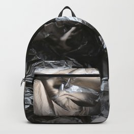 black plastic 02 Backpack