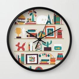The shelf Wall Clock