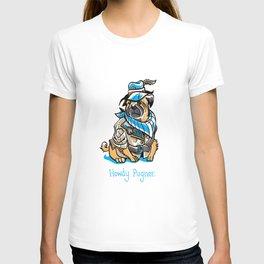 Howdy Pugner T-shirt