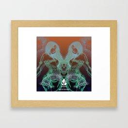 'Mind Eraser' - Alternative Version (2017-2018) Framed Art Print