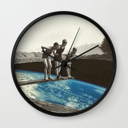 Who's First? Wall Clock