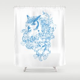 THE OBSCURE OWL Shower Curtain