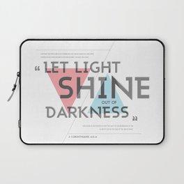 2 CORINTHIANS 4:5-6 Laptop Sleeve